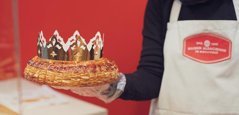 Nos Galettes des Rois traditionnelles : frangipane, pomme-quetsche, pistache-griotte