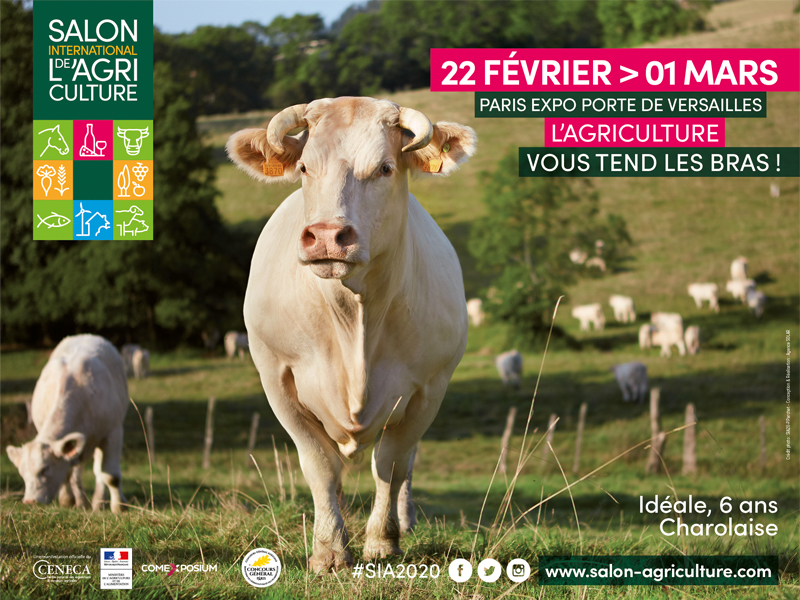 Affiche du Salon International de l'Agriculture 2020 - Maison Alsacienne de Biscuiterie